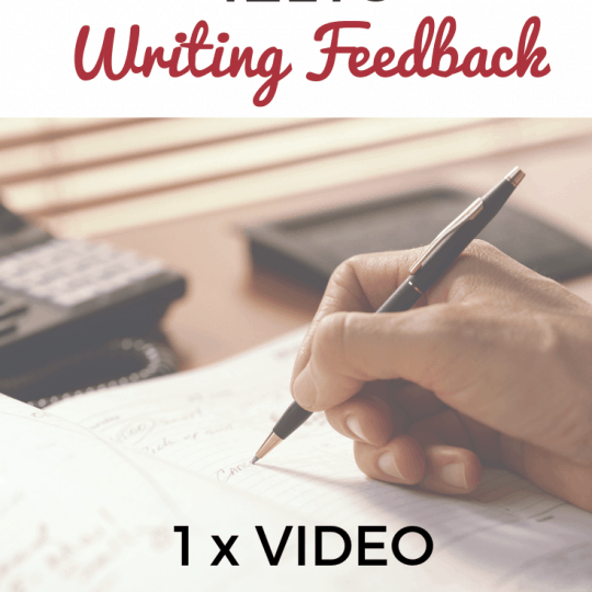 IELTS Writing Feedback 1