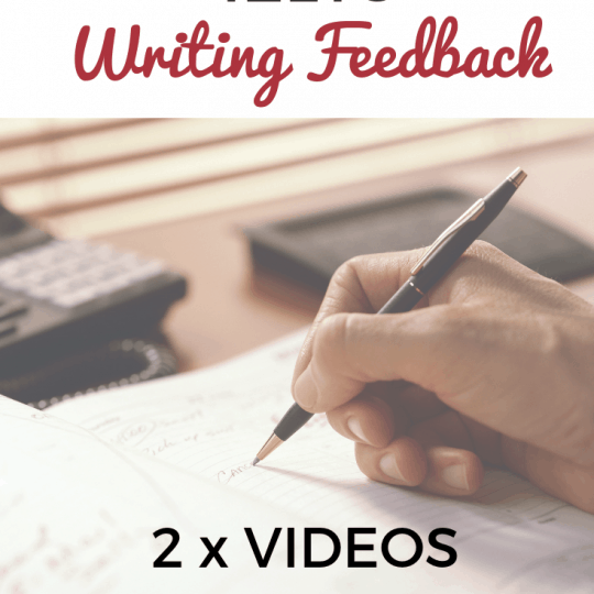 IELTS WRITING FEEDBACK