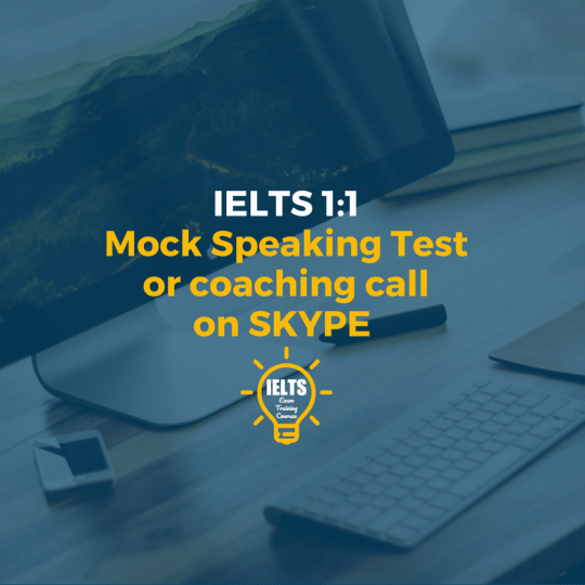 IELTS Mock Speaking and skype lesson
