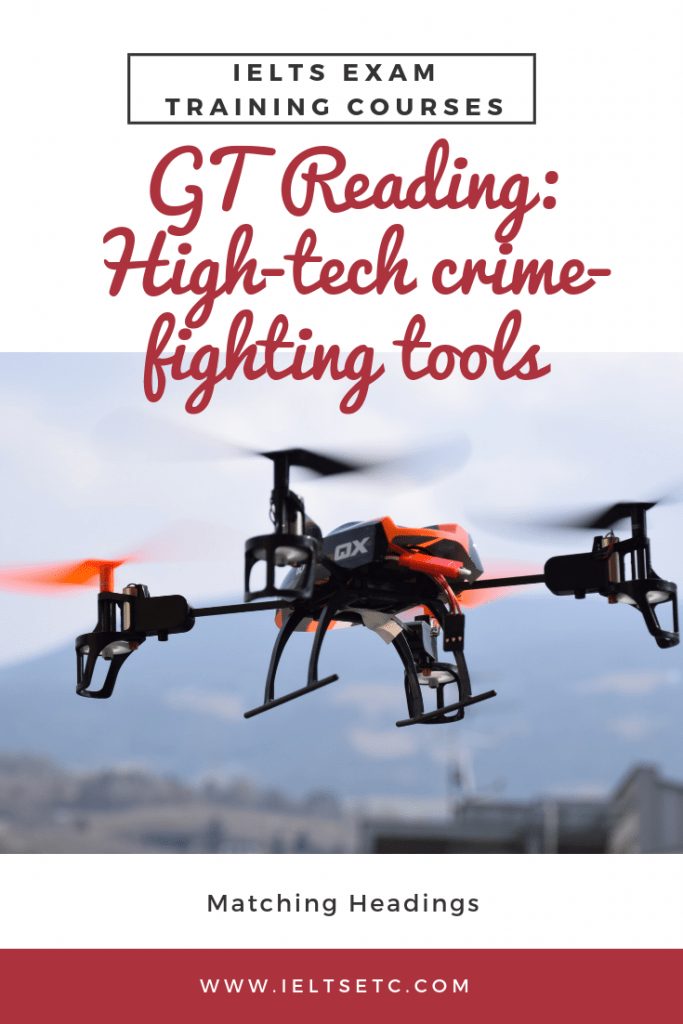 IELTS GT Reading High-Tech Crime-Fighting tools