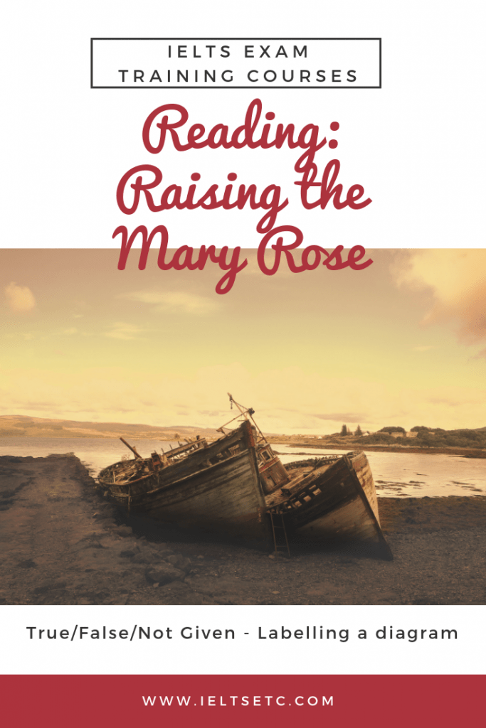 IELTS Reading Raising the Mary Rose