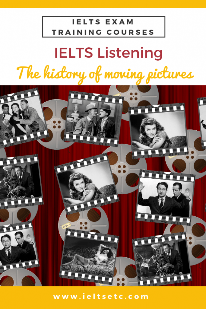 IELTS Listening The history of moving pictures
