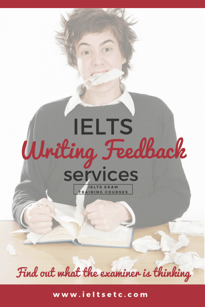 IELTS Writing Feedback services