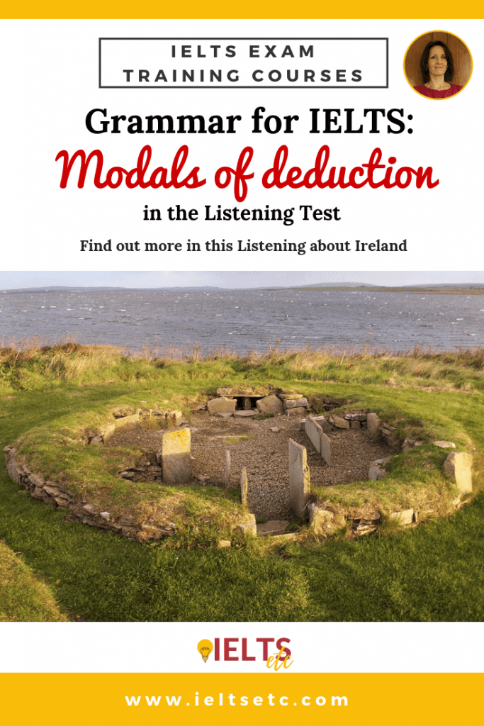 IELTS Modals of deduction