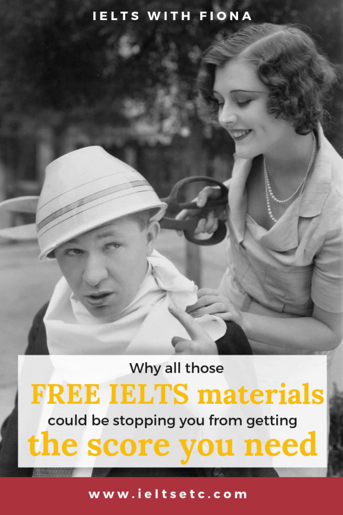 Why all those free IELTS materials could be stopping you from getting the score you want