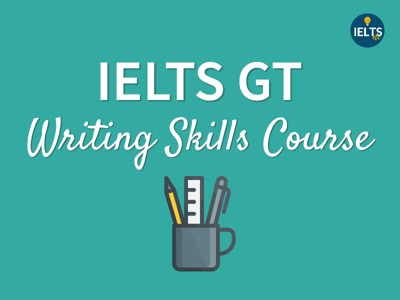 online IELTS writing course