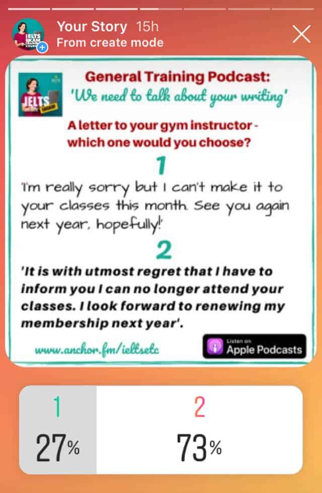 IELTS Writing GT Task 1 Informal vs Formal