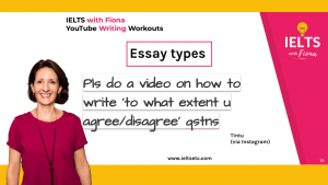 IELTS writing How to answer to what extent do you agree or disagree questions