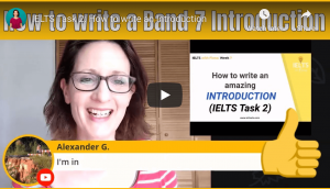 IELTS writing Task 2 how to write an introduction