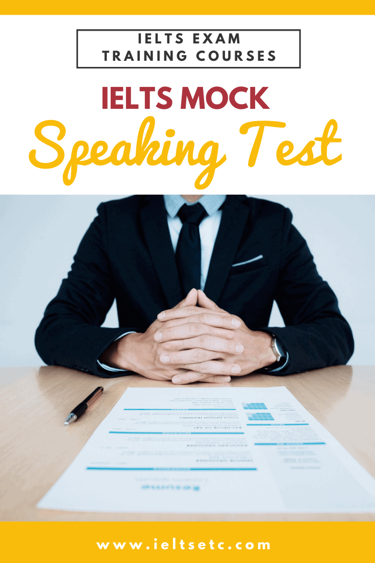 IELTS Speaking Mock Test
